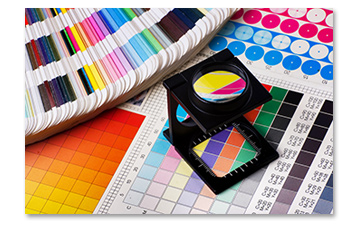 Print Color Palettes and Charts
